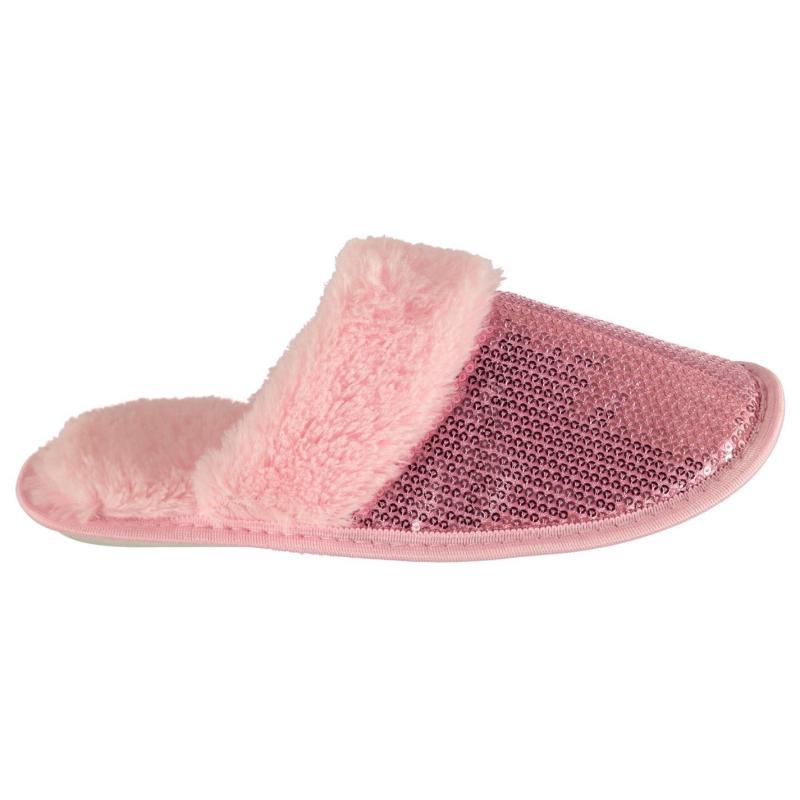 Moon Moccasin Memory Foam Women's Slippers Pink