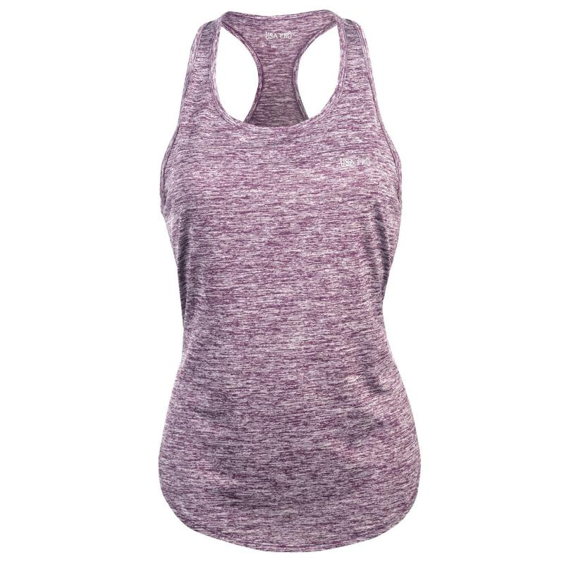 USA Pro Boyfriend Tank Top Shadow Purple