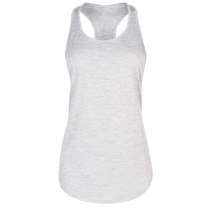 USA Pro Boyfriend Tank Top Grey Marl