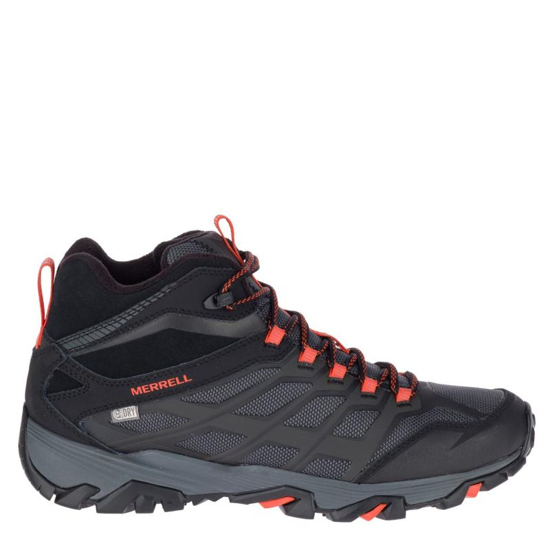 Boty Merrell Moab FST Ice Thermo Mens Walking Boots Black/Fire