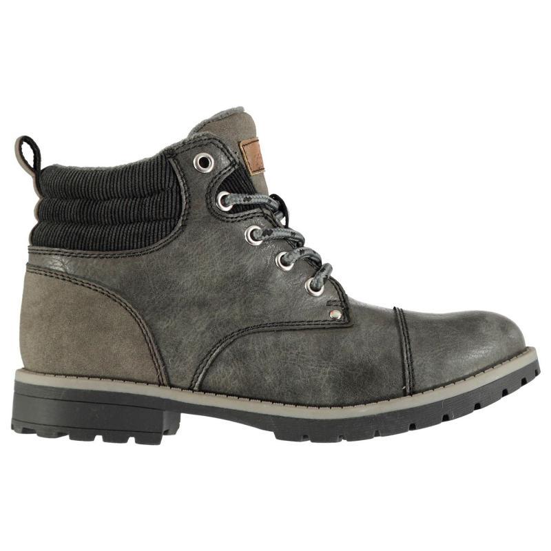 Soviet Chester Childrens Boots Grey