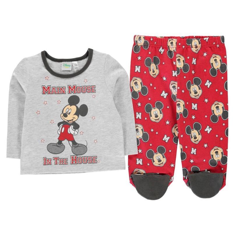 Character Pyjama Set Baby Mickey Xmas