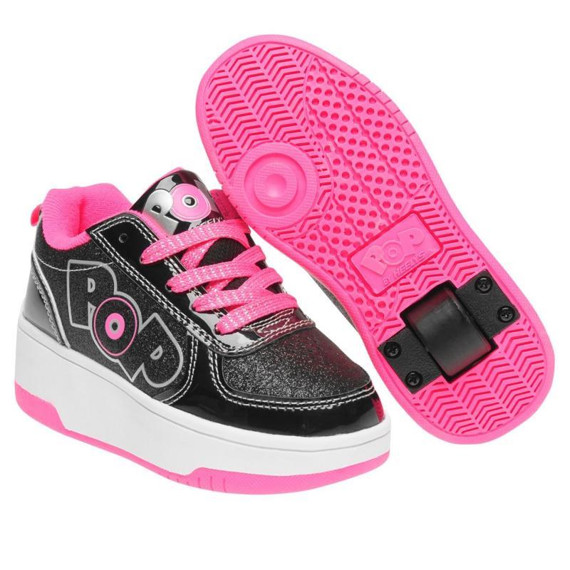 Heelys Strike Junior Girls Skate Shoes White/Pink