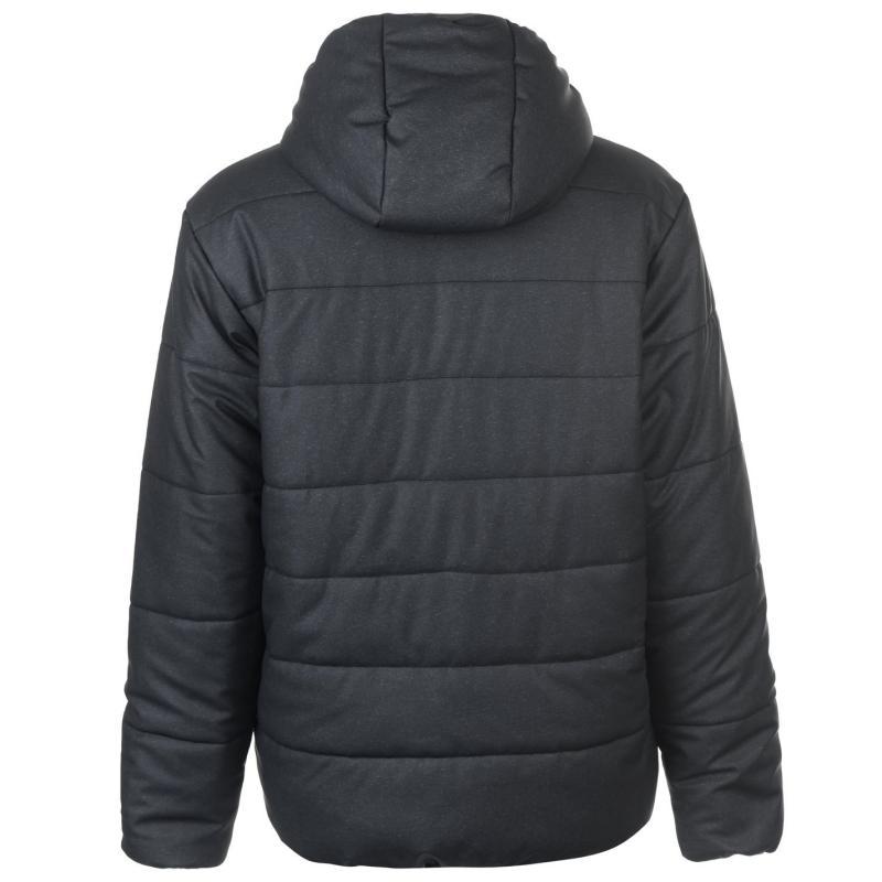 Lonsdale Marl Jacket Mens Black Marl