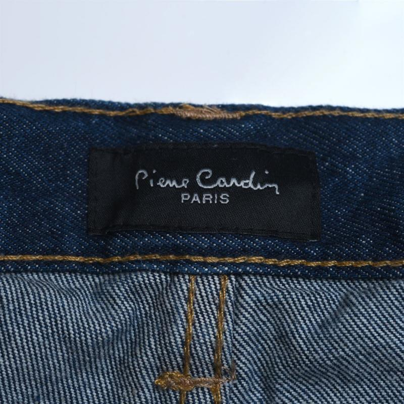 Pierre Cardin Web Belt Mens Jeans Solid Mid