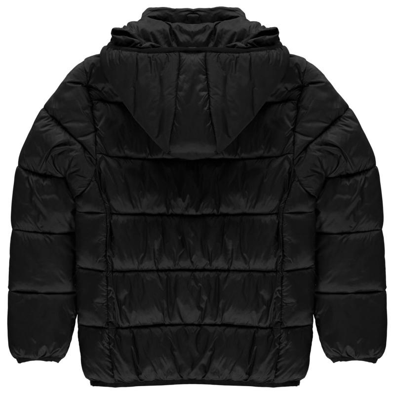 Bunda Sondico Padded Coat Junior Boys Black