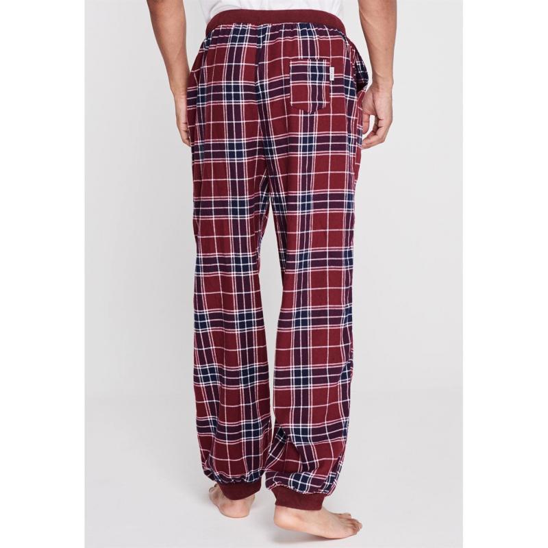 Pyžamo SoulCal Set Check Pyjama Bottoms Mens CH Check Pants