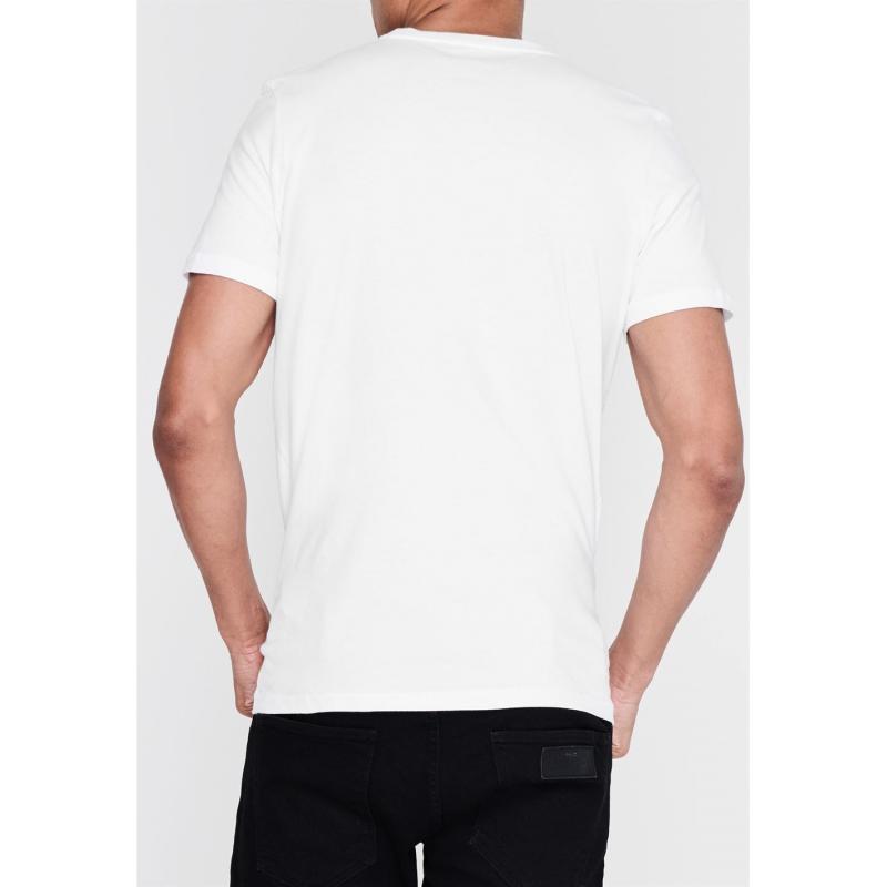 Tričko Asics Sneaker T Shirt Mens Black/Wht/Lime