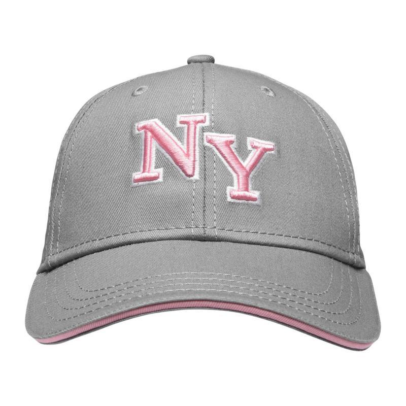 No Fear NY Cap Grey/Pink