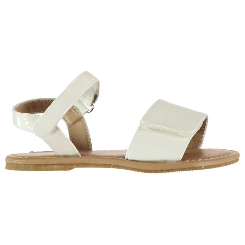 Crafted Infant Girls Sandals White