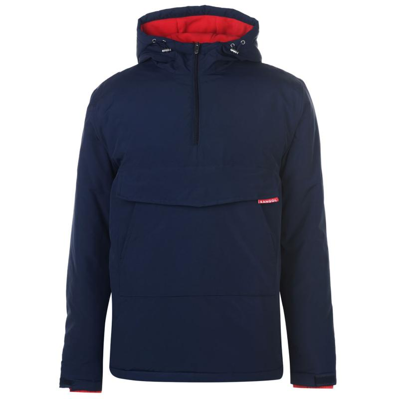 Kangol Half Zip Jacket Mens Navy