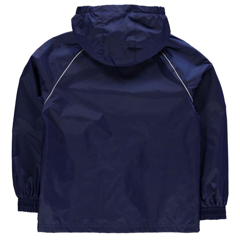 Bunda adidas Core Rain Jacket Junior Dark Blue