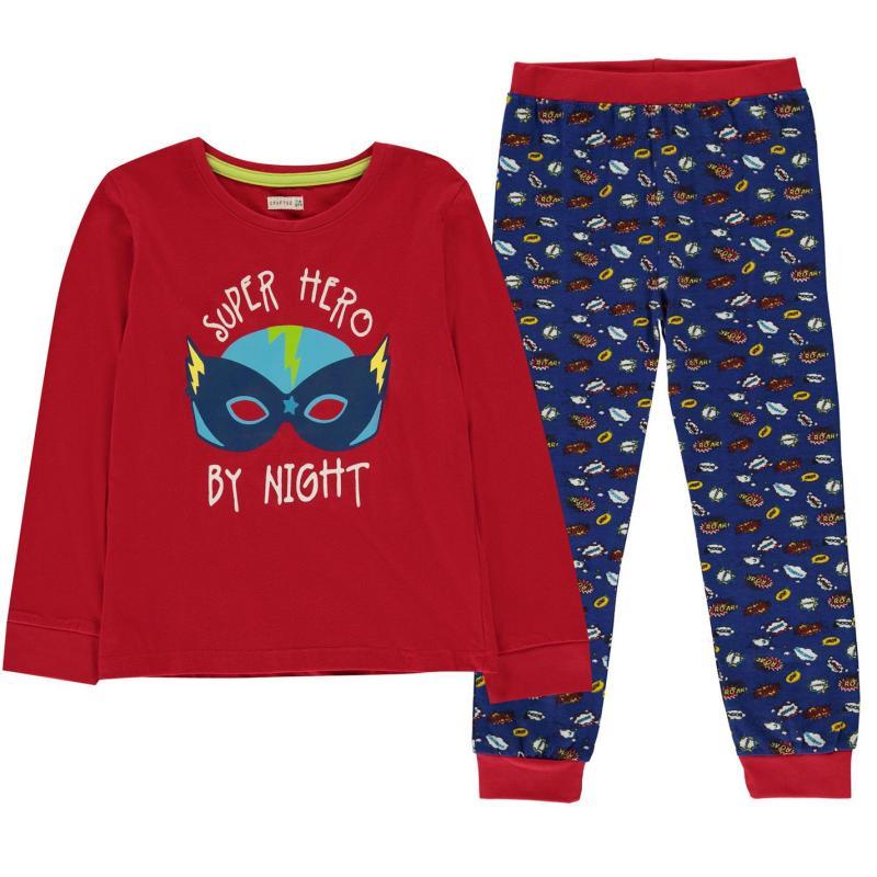 Crafted Design Pyjamas Childrens Superhero Boys