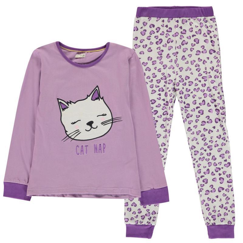 Crafted Design Pyjamas Childrens Cat Girls