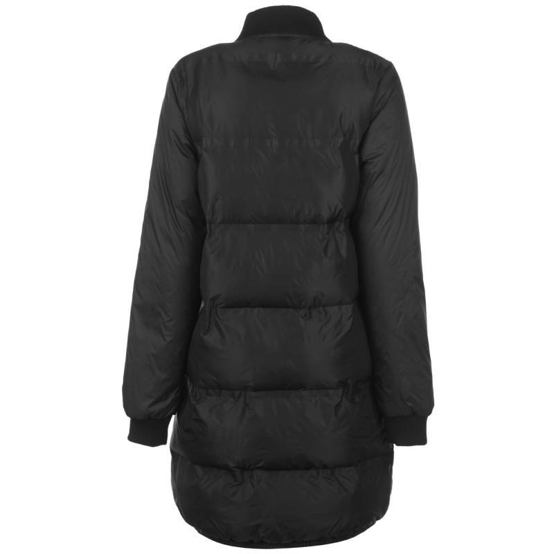 Everlast Long Bomber Jacket Ladies Black