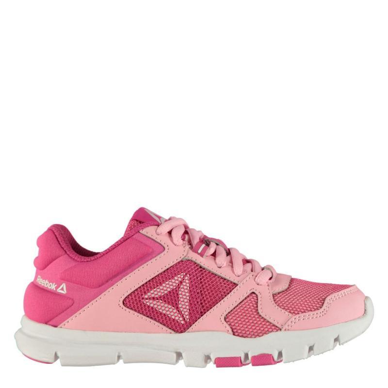 Reebok Your Flex 10 Junior Girls Trainers Light Pink/Pink