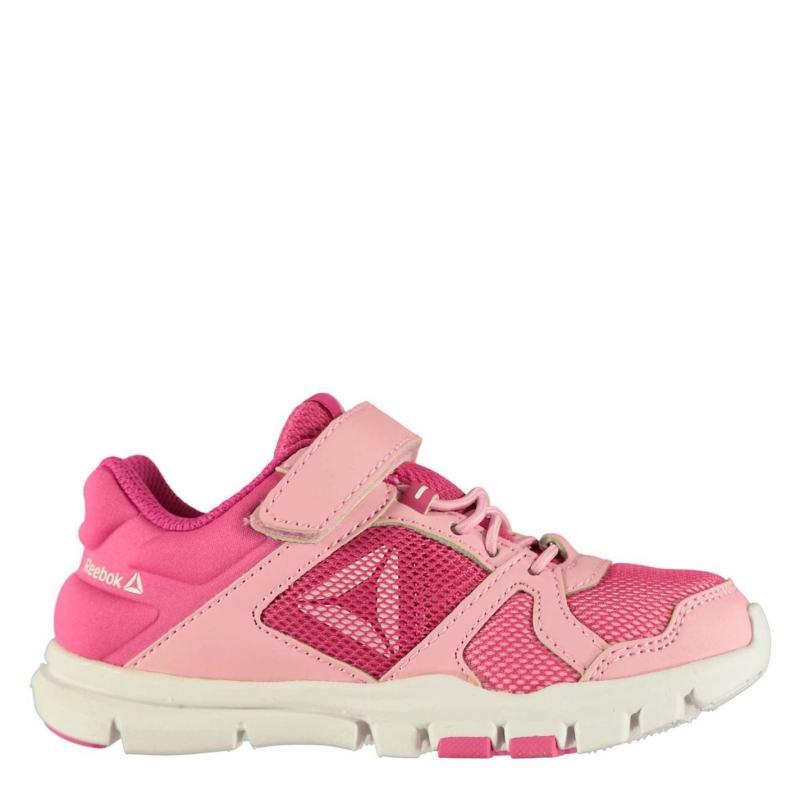 Reebok YourFlex 10 Trainers Girls Light Pink/Pink