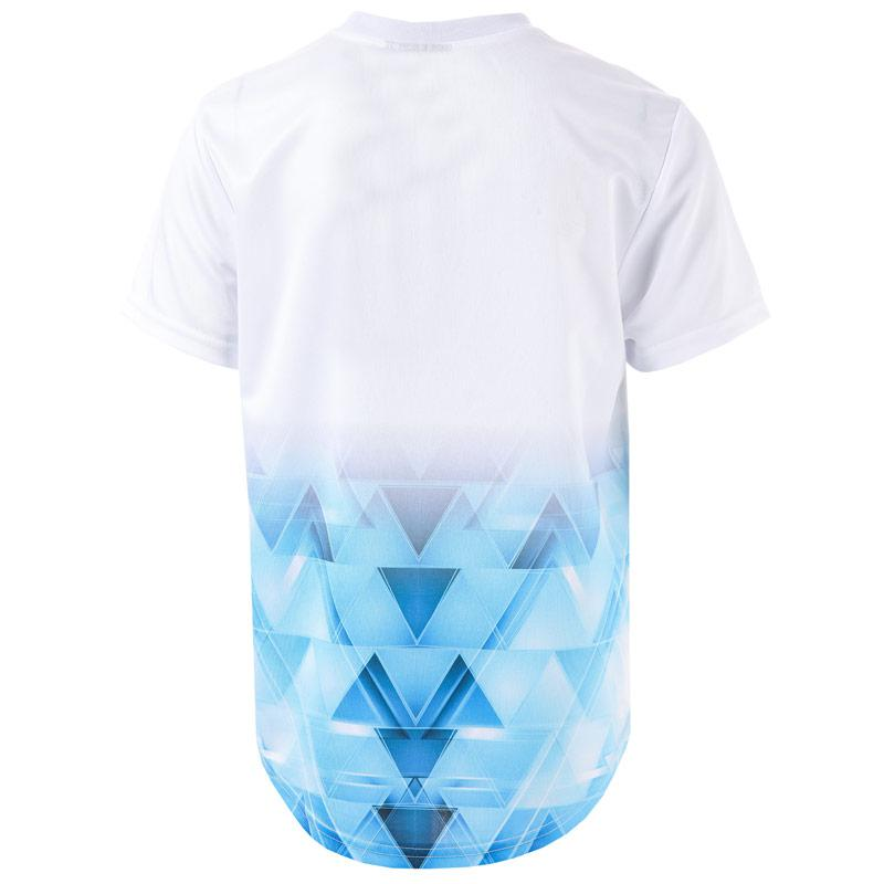 Tričko Beck And Hersey Junior Boys Booth T-Shirt White blue