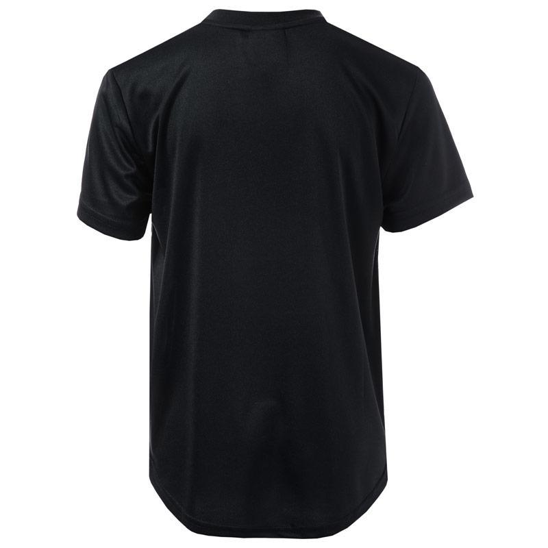 Tričko Beck And Hersey Junior Boys Brewer T-Shirt Black-White