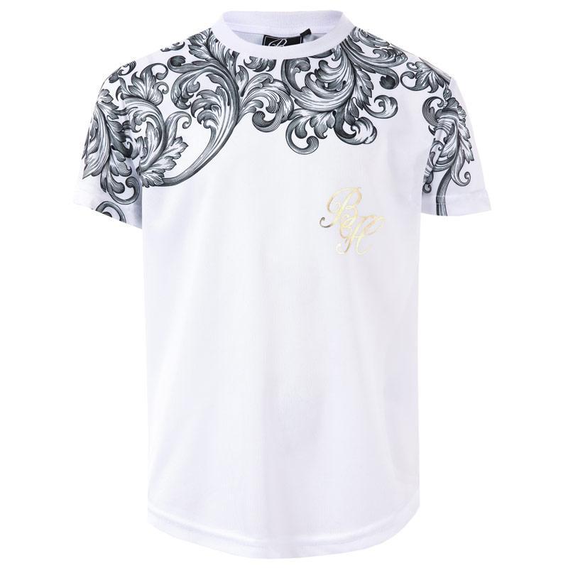 Tričko Beck And Hersey Junior Boys Brookhill T-Shirt White