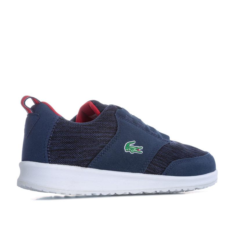 Boty Lacoste Junior Boys L.ight 118 4 Trainers Navy