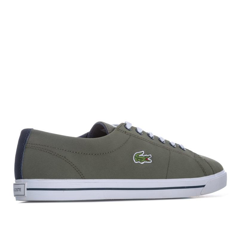 Boty Lacoste Junior Boys Riberic 318 Trainers Khaki