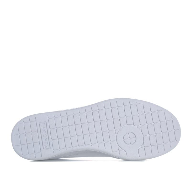 Boty Lacoste Junior Carnaby 318 Evo Trainers White