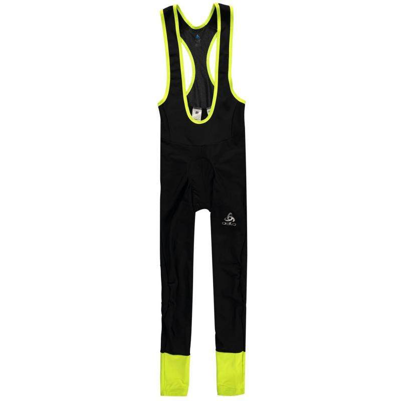 Odlo Julier Long Suspender Tights Mens Black/Yellow