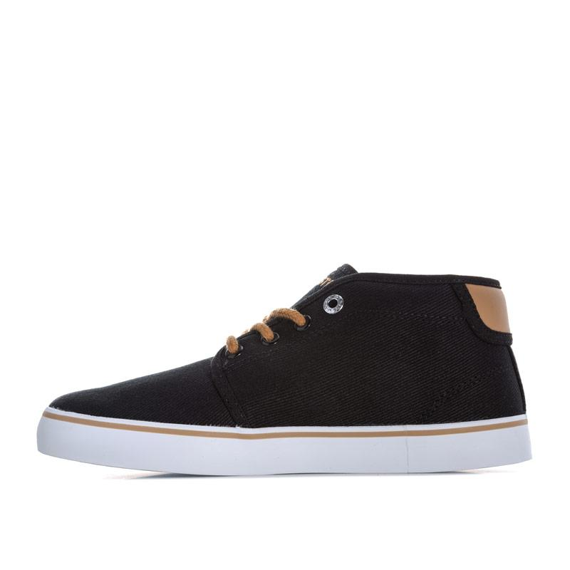 Boty Lacoste Children Boys Ampthill 218 Mid Trainers Black