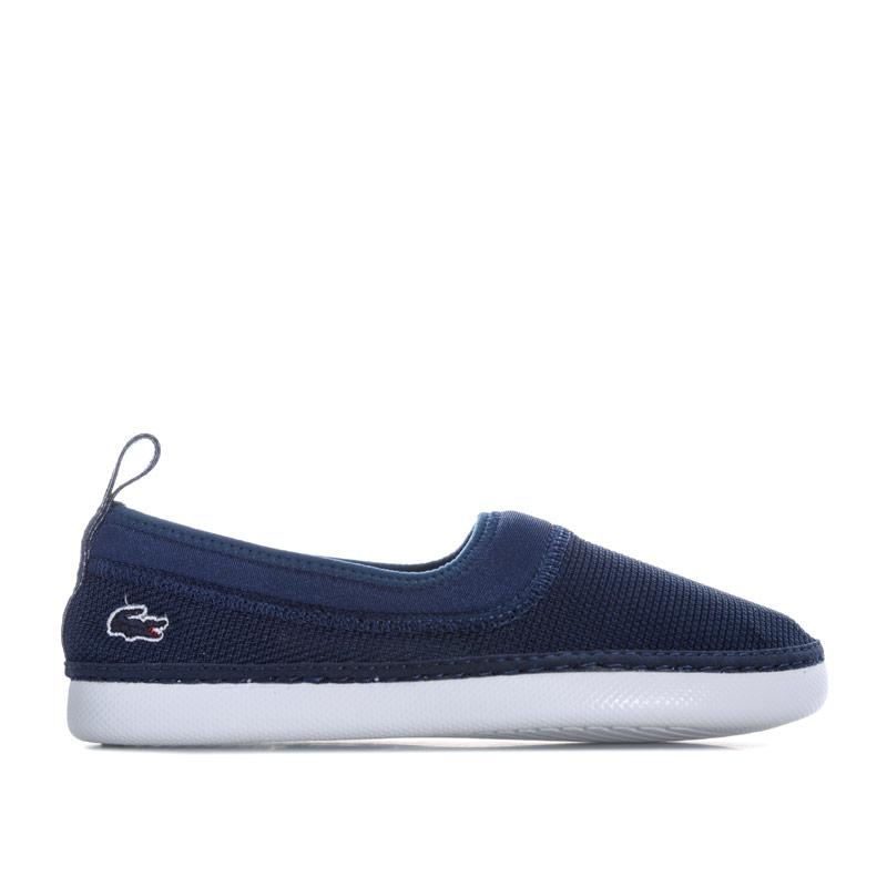 Boty Lacoste Children Boys L.ydro 118 Slip on Espadrille Navy