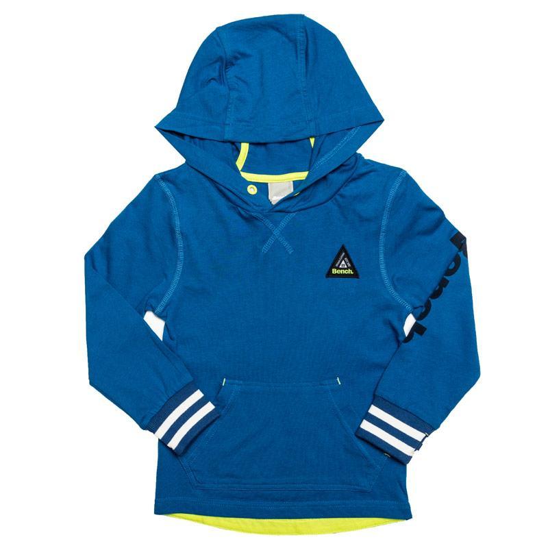Mikina Bench Junior Boys Jersey Hoody Royal Blue