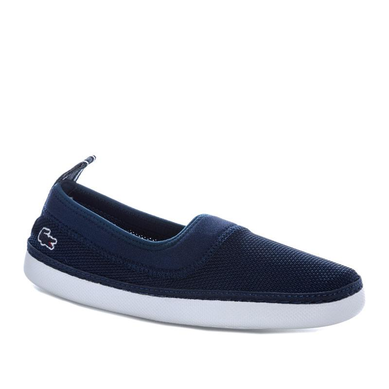 Boty Lacoste Junior Boys L.ydro 118 Slip on Espadrille Navy