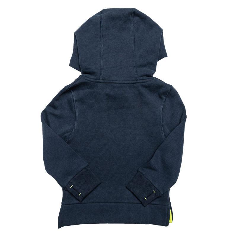 Mikina Bench Junior Boys Logo Hoody Navy