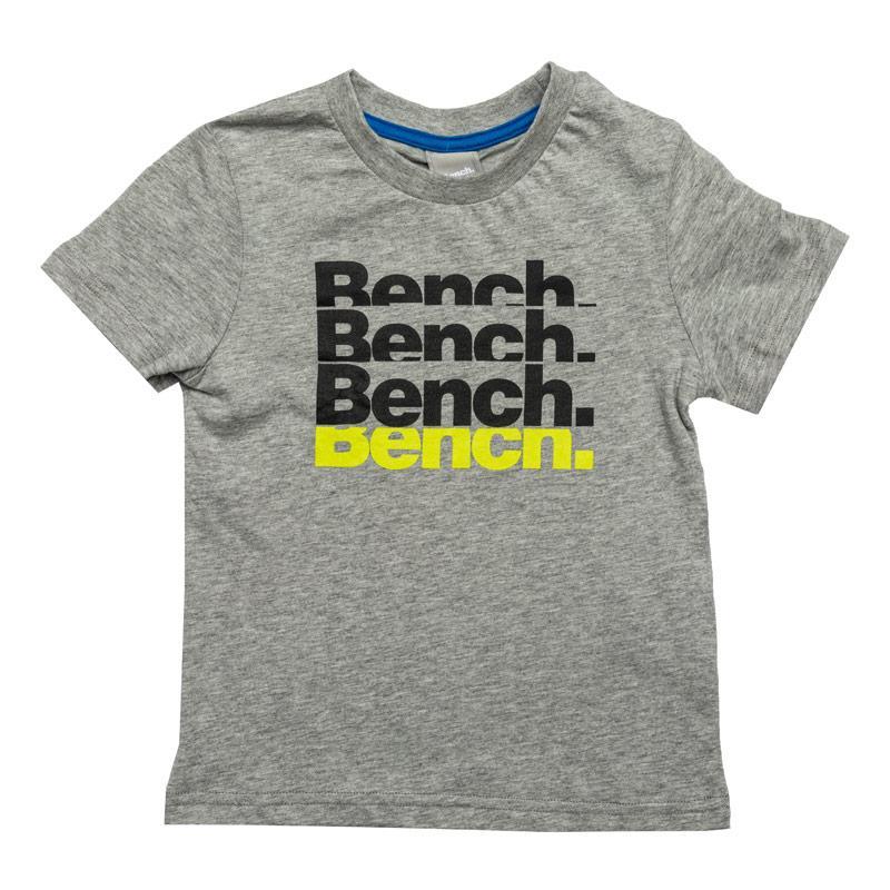 Tričko Bench Junior Boys Printed T-Shirt Grey