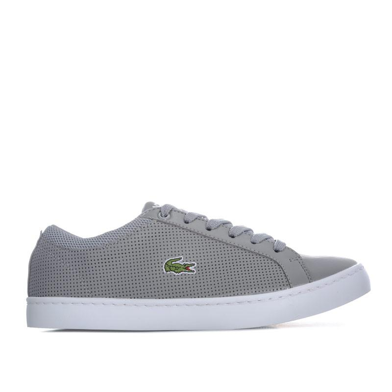 Boty Lacoste Junior Boys Straightset 118 Trainers Grey