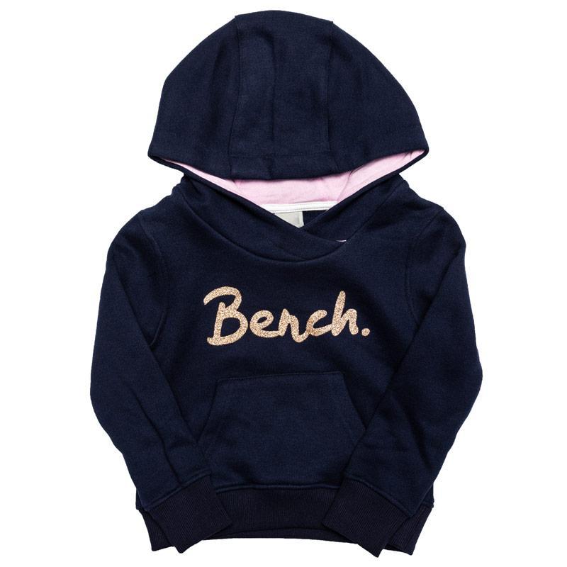 Bench Junior Girls Hoody Navy