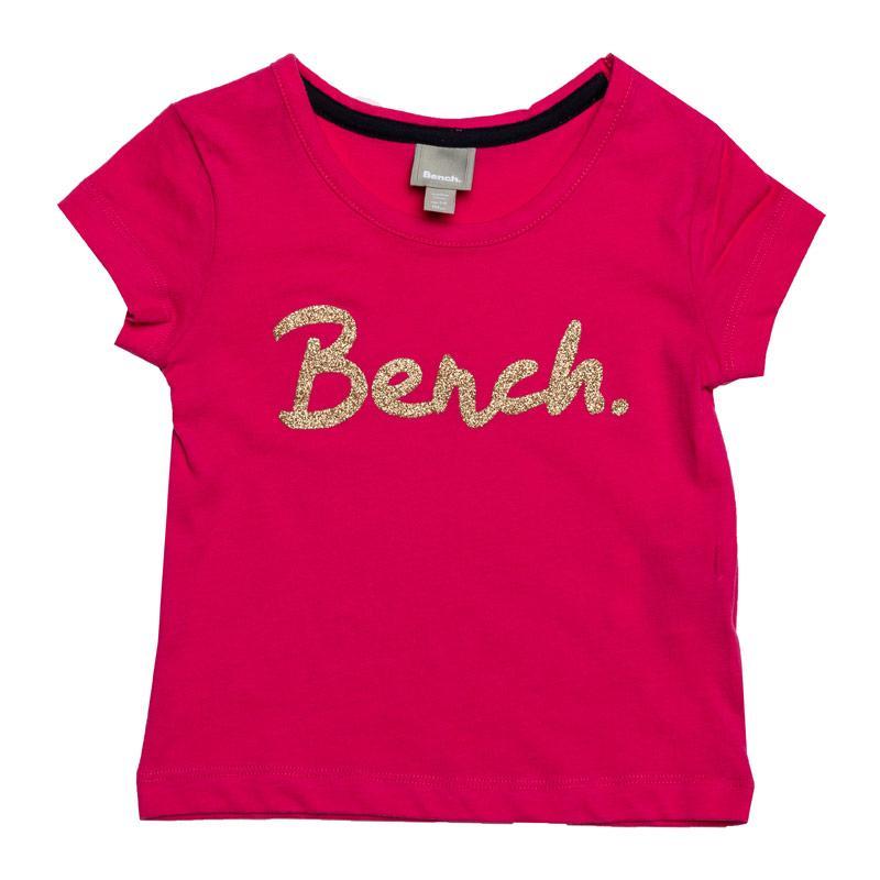 Bench Junior Girls Printed T-Shirt Pink