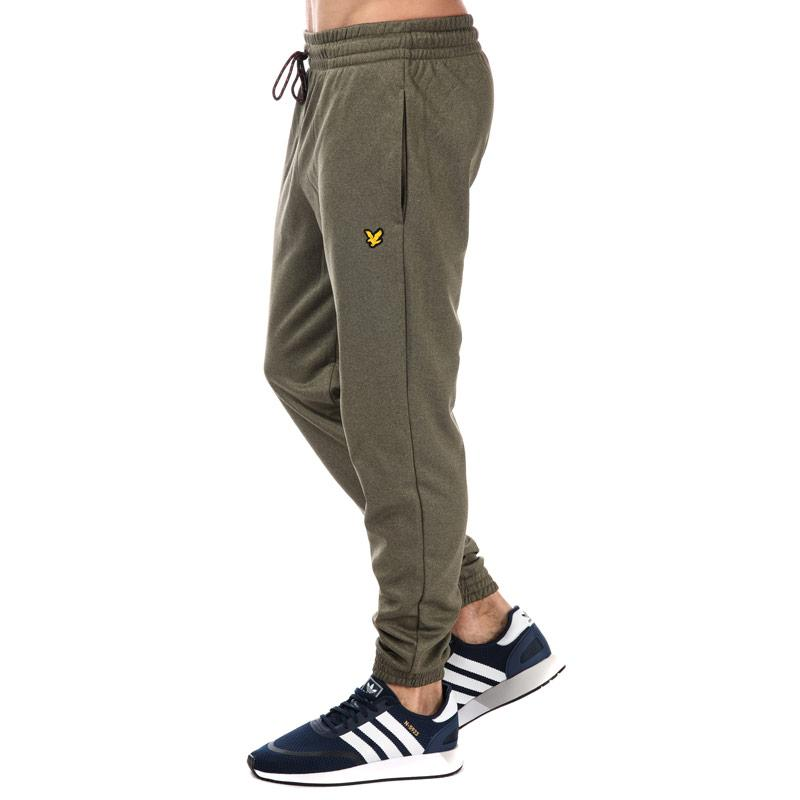 Tepláky Lyle And Scott Sport Mens Hislop Fleece Track Pant olive