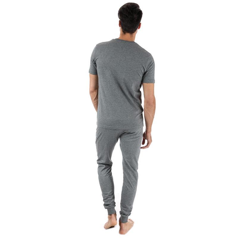 Pyžamo Diesel Mens Jake Julio Pyjamas Grey Velikost - XL