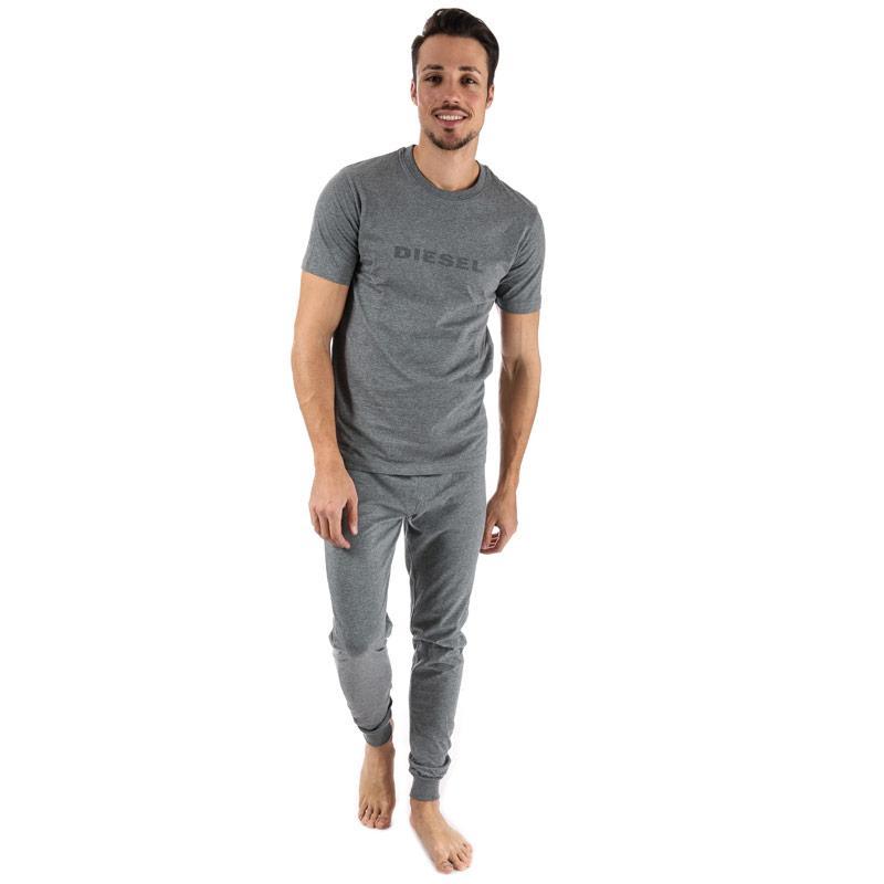 Pyžamo Diesel Mens Jake Julio Pyjamas Grey Velikost - S