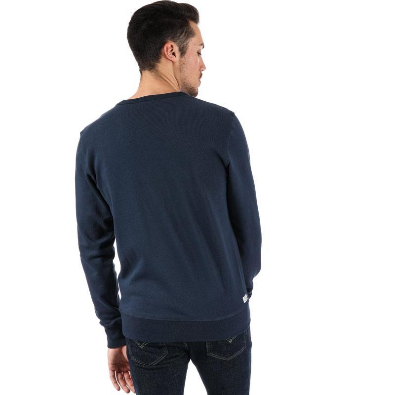 Mikina Diesel Mens Willy Sweatshirt Grey