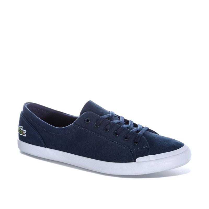 Obuv Lacoste Womens Lancelle BL Canvas Pumps Navy