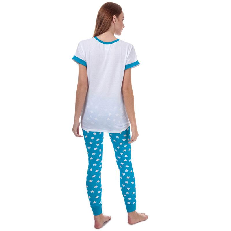 Pyžama DC Comics Womens Wonder Woman Pyjamas Blue