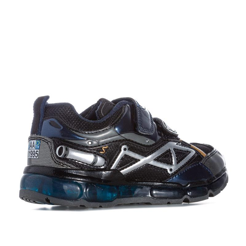 Boty Geox Children Boys Android Trainers navy silver