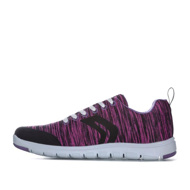 Geox Junior Girls Xunday Trainers Lilac