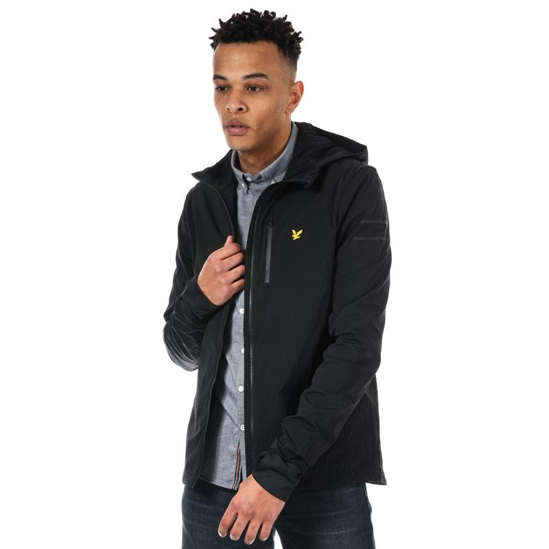 Lyle And Scott Sport Mens Ultra Tech Run Jacket Black