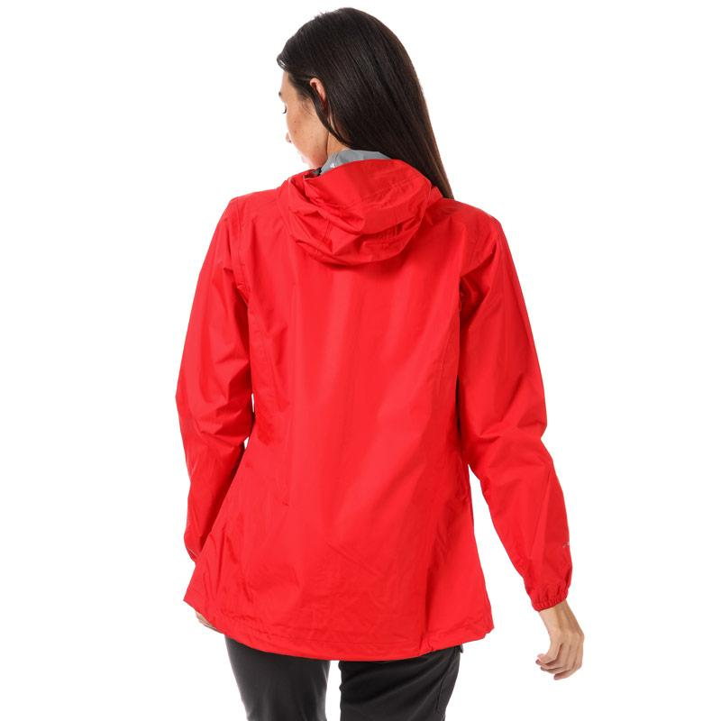 Berghaus Womens Deluge Light Waterproof Jacket Red