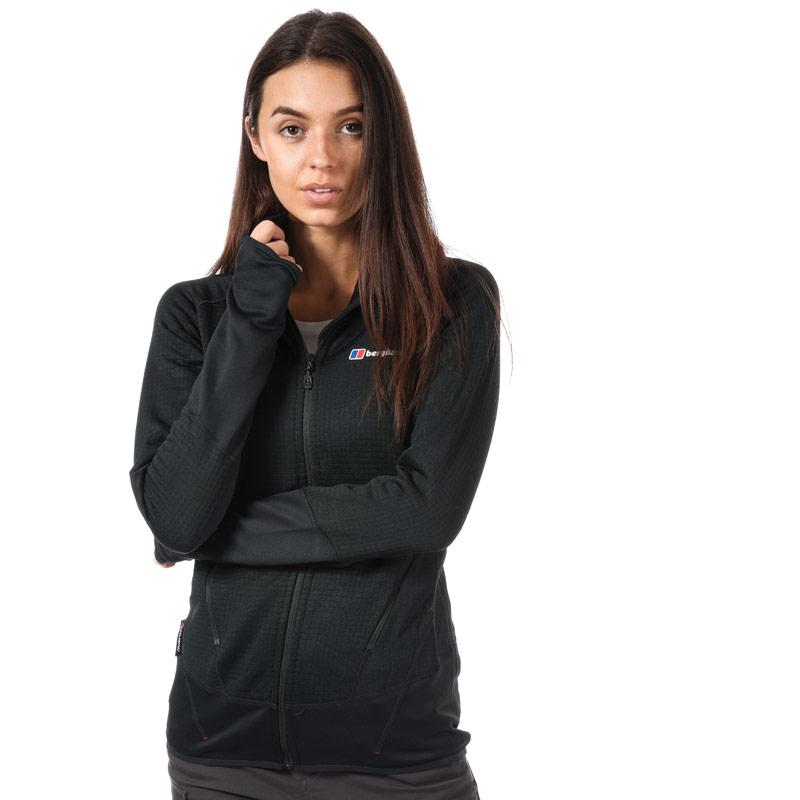 Berghaus Womens Extrem 7000 Hooded Fleece Jacket Black