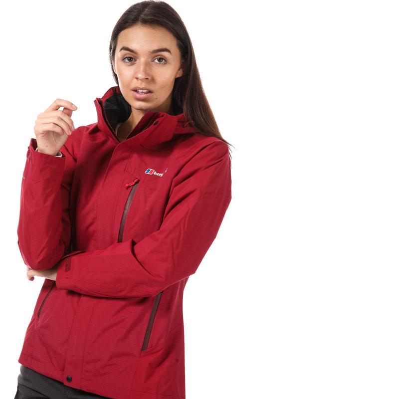 Berghaus Womens Skye Waterproof Jacket Red