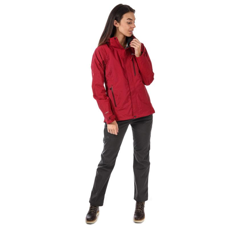 Berghaus Womens Skye Waterproof Jacket Red